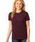 LPC54 Port & Company® Ladies 5.4-oz 100% Cotton T-Shirt Athl Maroon