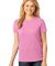LPC54 Port & Company® Ladies 5.4-oz 100% Cotton T-Shirt Candy Pink