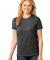 LPC54 Port & Company® Ladies 5.4-oz 100% Cotton T-Shirt Dk Hthr Grey
