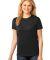 LPC54 Port & Company® Ladies 5.4-oz 100% Cotton T-Shirt Jet Black