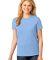 LPC54 Port & Company® Ladies 5.4-oz 100% Cotton T-Shirt Light Blue
