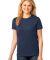 LPC54 Port & Company® Ladies 5.4-oz 100% Cotton T-Shirt Navy