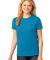 LPC54 Port & Company® Ladies 5.4-oz 100% Cotton T-Shirt Neon Blue