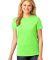 LPC54 Port & Company® Ladies 5.4-oz 100% Cotton T-Shirt Neon Green