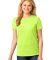 LPC54 Port & Company® Ladies 5.4-oz 100% Cotton T-Shirt Neon Yellow