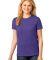 LPC54 Port & Company® Ladies 5.4-oz 100% Cotton T-Shirt Purple