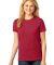 LPC54 Port & Company® Ladies 5.4-oz 100% Cotton T-Shirt Red