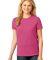 LPC54 Port & Company® Ladies 5.4-oz 100% Cotton T-Shirt Sangria