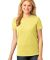 LPC54 Port & Company® Ladies 5.4-oz 100% Cotton T-Shirt Yellow