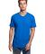 MC1047 Cotton Heritage Men's Chicago Cotton V-Neck Tee Team Royal Heather (New)
