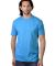 MC1082 Cotton Heritage Men's Los Angeles Cotton Crew Neck Tee Turquoise