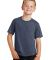 Port & Co PC450Y mpany   Youth Fan Favorite Tee Heather Navy