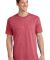 Port  Company 5.4 oz 100 Cotton T Shirt PC54 Hthr Red