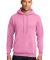 Port  Company Classic Pullover Hooded Sweatshirt PC78H Candy Pink