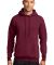 Port  Company Classic Pullover Hooded Sweatshirt PC78H Cardinal