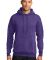 Port  Company Classic Pullover Hooded Sweatshirt PC78H Hthr Purple