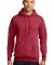 Port  Company Classic Pullover Hooded Sweatshirt PC78H Hthr Red