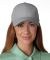 PE102 Adams Polyester Performer Cap Grey/Black