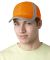 RF102 Adams Reflector High-Visibility Constructed Cap ORANGE