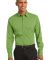 Port Authority S646    Stretch Poplin Shirt Wintergreen