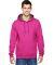 SF76R Fruit of the Loom 7.2 oz. Sofspun™ Hooded Sweatshirt Cyber Pink