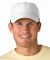 SH101 Adams Sunshield Unconstructed Blended Cap with UV Protection White