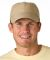 SH101 Adams Sunshield Unconstructed Blended Cap with UV Protection Khaki
