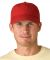 SH101 Adams Sunshield Unconstructed Blended Cap with UV Protection Nautical Red