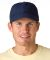 SH101 Adams Sunshield Unconstructed Blended Cap with UV Protection Navy
