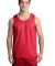 Sport Tek PosiCharge Classic Mesh 8482 Reversible Tank ST500 True Red/Wh