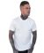 MC134 White Modal Cotton T-Shirt Front Plain White