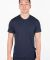 MC134 Navy Modal Cotton T-Shirt front View
