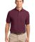 Port Authority TLK500P    Tall Silk Touch Polo with Pocket Burgundy