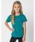 American Apparel TR101W Toddler Triblend Short-Sleeve T-Shirt TRI EVERGREEN