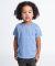 TR101 American Apparel Kids Tri-Blend Short Sleeve T Athletic Blue