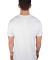 MC134 White Modal Cotton T-Shirt Back View