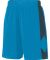 Augusta Sportswear 1715 Block Out Short Power Blue/ Slate