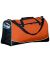 Augusta Sportswear 1911 Large Tri-Color Sport Bag Orange/ Black/ White