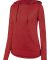 Augusta Sportswear 2907 Women's Shadow Tonal Heather Hoodie Red