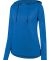 Augusta Sportswear 2907 Women's Shadow Tonal Heather Hoodie Royal
