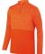 Augusta Sportswear 2908 Shadow Tonal Heather Quarter-Zip Orange