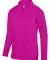 Augusta Sportswear 5508 Youth Wicking Fleece Pullover Power Pink