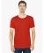 2410 American Apparel Fine Jersey Ringer Tee Red/White(Discontinued)