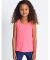 American Apparel BB108W Toddler Poly-Cotton Tank Neon Heather Pink