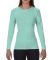 3014 Comfort Colors - Pigment-Dyed Ladies' Long Sleeve T-Shirt Island Reef