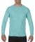 4410 Comfort Colors - Long Sleeve Pocket T-Shirt Chalky Mint