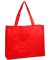 A135 UltraClub® Non-Woven Polypropylene Deluxe Tote  RED