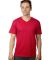 MC1047 Cotton Heritage Men's Chicago Cotton V-Neck Tee Red