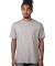 MC1082 Cotton Heritage Men's Los Angeles Cotton Crew Neck Tee Athletic Heather