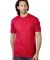 MC1082 Cotton Heritage Men's Los Angeles Cotton Crew Neck Tee Red